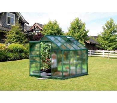 Skleník Lanit Plast VITAVIA VENUS 5000 matné sklo 4 mm zelený