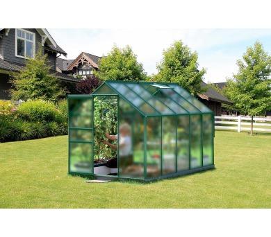 Skleník Lanit Plast VITAVIA VENUS 6200 matné sklo 4 mm zelený