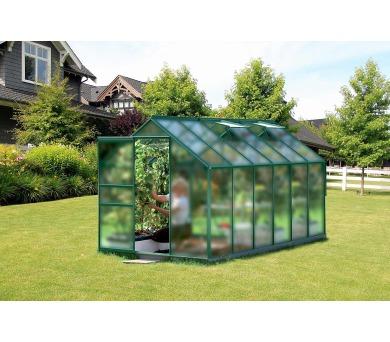 Skleník Lanit Plast VITAVIA VENUS 7500 matné sklo 4 mm zelený
