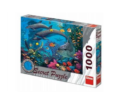 Puzzle Mořský svět 12 skrytých detailů 1000 dílků 66x47cm v krabici 37x27x5,5cm + DOPRAVA ZDARMA
