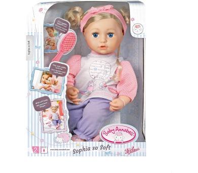 Baby Annabell Sophia s vlásky + DOPRAVA ZDARMA