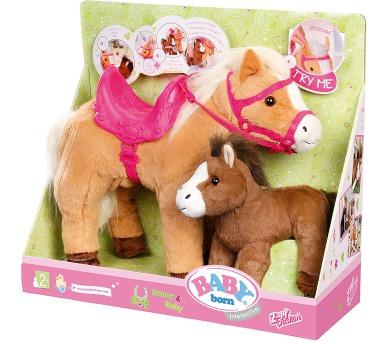 Bb Interaktivní kůň s hříbátkem + DOPRAVA ZDARMA