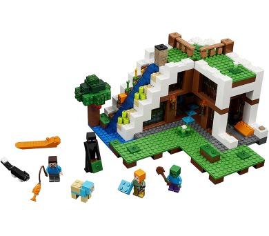 LEGO Minecraft 21134 Základna ve vodopádu + DOPRAVA ZDARMA
