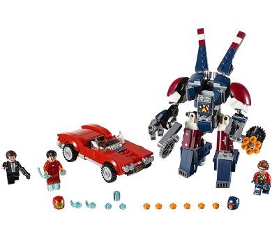 LEGO Super Heroes 76077 Iron Man: Robot z detroitských oceláren