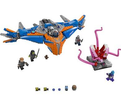 LEGO Super Heroes 76081 Vesmírná loď Milano vs. Abilisk