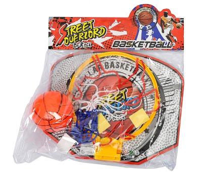 Basketbalový koš s nafukovacím míčem