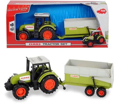 Traktor CLAAS s přívěsem 36 cm