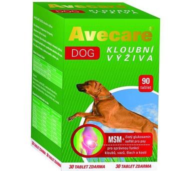 Avecare Dog kloubní výživa pro psy MSM+Glukosamin tbl 90