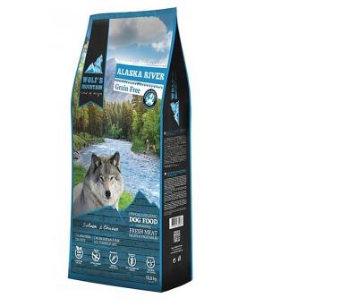 Wolf's Mountain Dog Alaska River Grain Free 12,5 kg + DOPRAVA ZDARMA