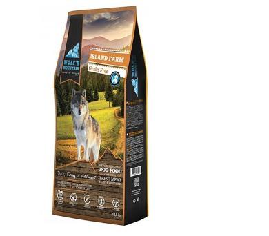 Wolf's Mountain Dog Island Farm Grain Free 12,5 kg + DOPRAVA ZDARMA