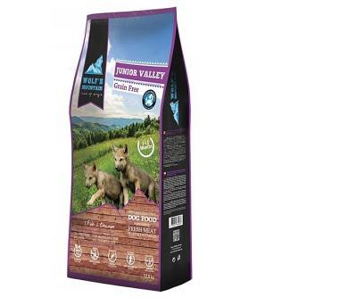 Wolf's Mountain Dog Junior Valley Grain Free 12,5 kg + DOPRAVA ZDARMA