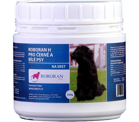 Roboran H pro psy černé a bílé plv 200 g