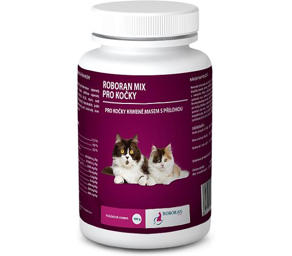 Roboran MIX pro kočky plv 100 g