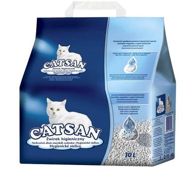 Podestýlka Catsan pro kočky 10l