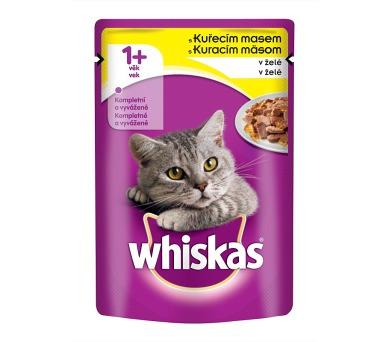 Whiskas kaps. - s kuřecím masem v želé 100 g
