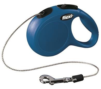 Flexi Classic NEW XS lanko 3 m modré 8 kg