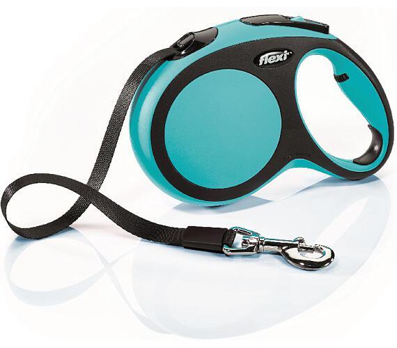 Flexi New Comfort L pásek 5 m modré 60 kg + DOPRAVA ZDARMA