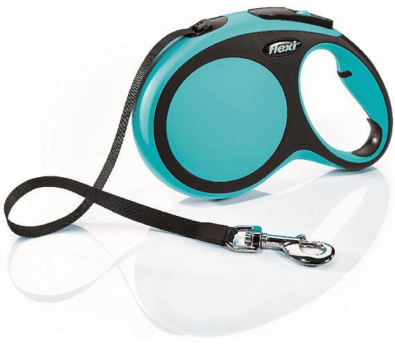 Flexi New Comfort L pásek 8 m modré 50 kg