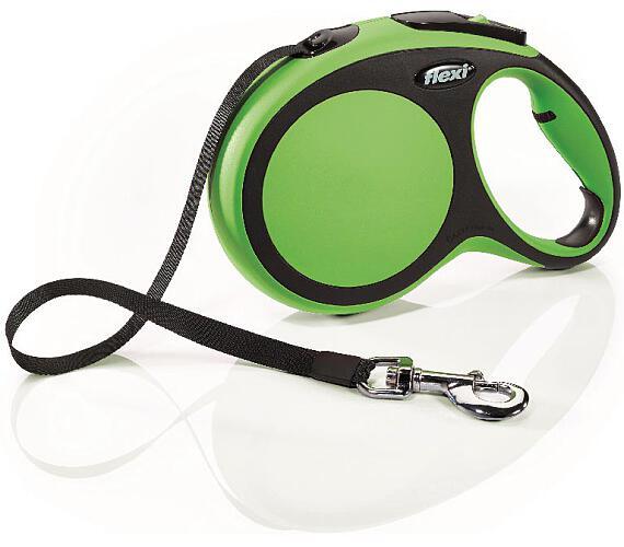 Flexi New Comfort L pásek 8 m zelené 50 kg