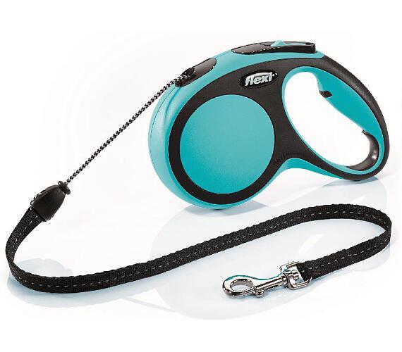 Flexi New Comfort M lanko 5 m modré 20 kg