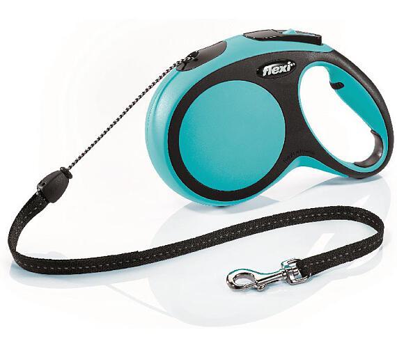 Flexi New Comfort M lanko 8 m modré 20 kg