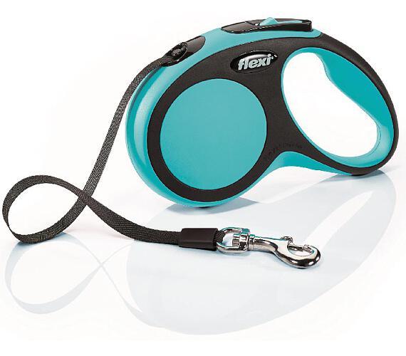 Flexi New Comfort S pásek 5 m modré 15 kg