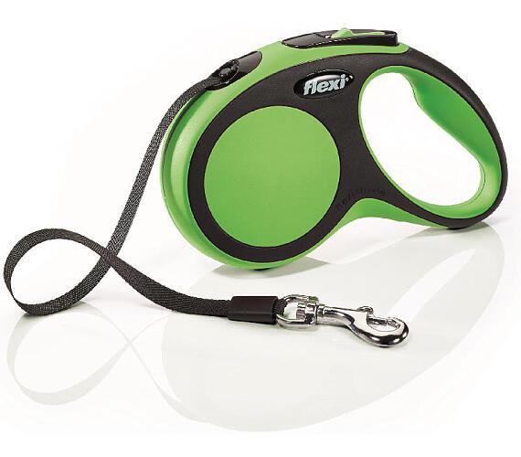 Flexi New Comfort S pásek 5 m zelené 15 kg