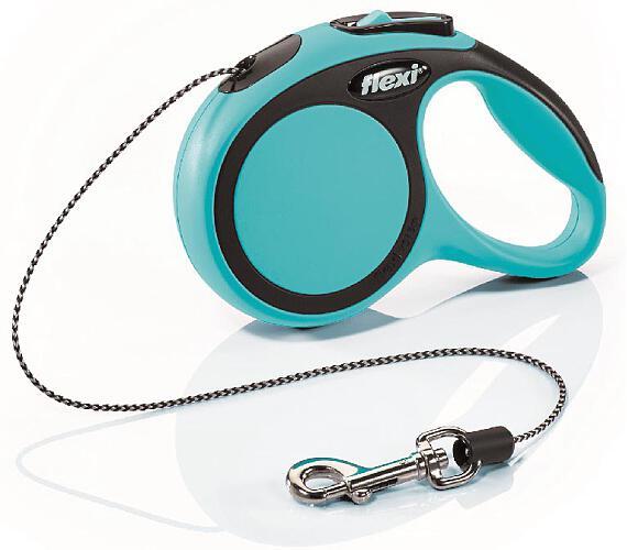 Flexi New Comfort XS lanko 3 m modré 8 kg