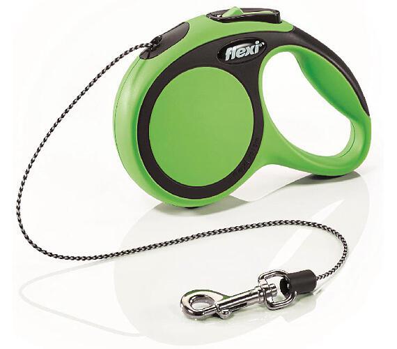 Flexi New Comfort XS lanko 3 m zelené 8 kg