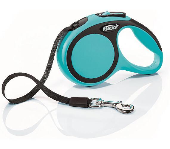 Flexi New Comfort XS pásek 3 m modré 12 kg