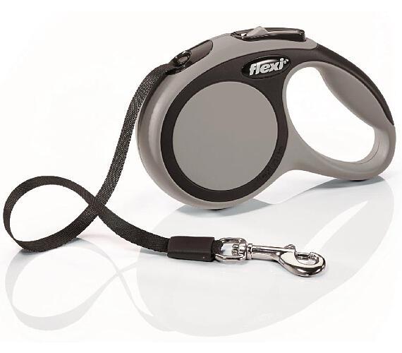 Flexi New Comfort XS pásek 3 m šedé 12 kg