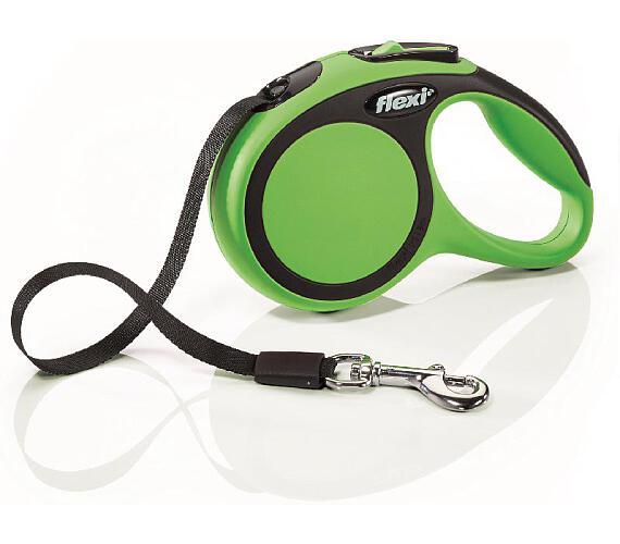Flexi New Comfort XS pásek 3 m zelené 12 kg