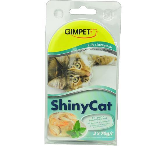 Gimpet Shiny cat konz. - kuře
