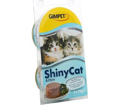 Gimpet Shiny cat konz. Junior - tuňák 2 x 70 g