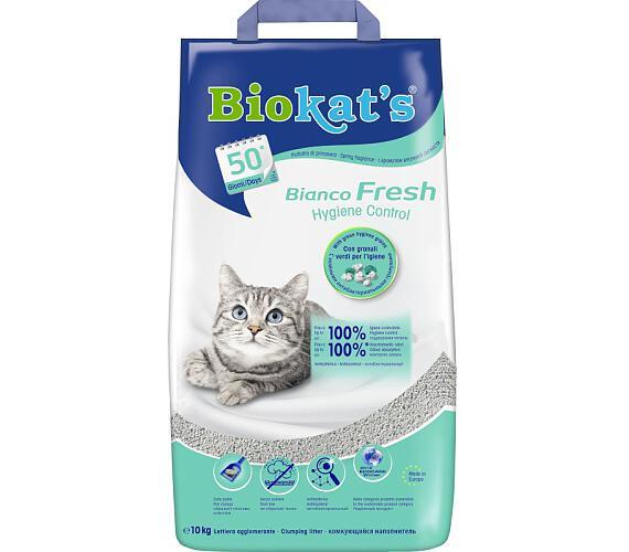 Podestýlka Cat Biokat's Bianco Fresh 10 kg