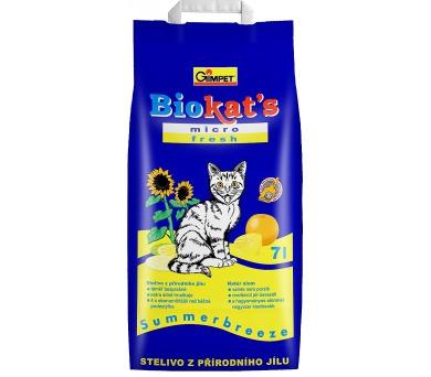 Podestýlka Cat Biokat's Micro Fresh 7 l