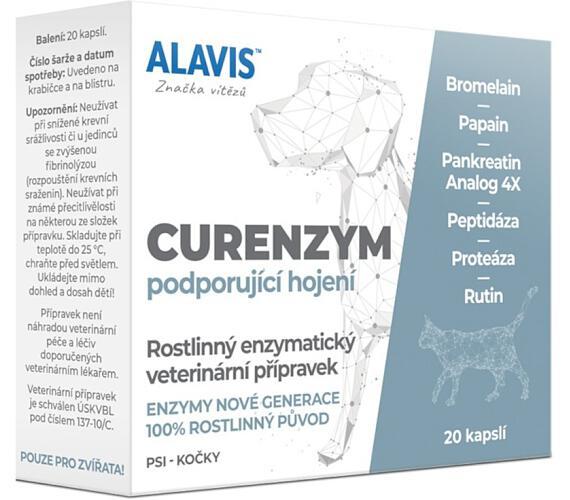 Alavis Curenzym Enzymoterapie cps 20