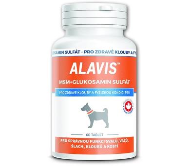 Alavis MSM + Glukosamin sulfát tbl 60