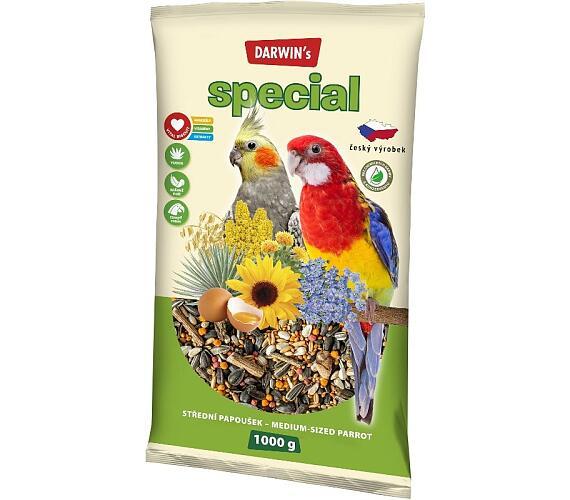 Darwins Speciál střední papoušek 1 kg