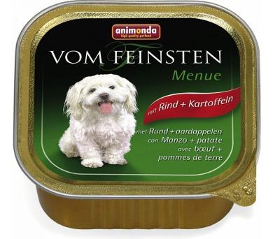 Animonda VomFeinsten Menue dog van. - hovězí