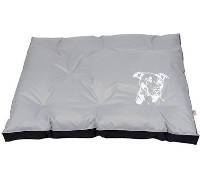 Matrace nylon Staford - šedo/černá 120 x 100 x 10 cm + DOPRAVA ZDARMA