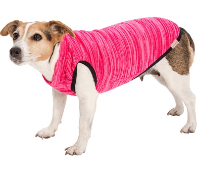 """Obleček - Svetr""""Asta""""růžový s melírem 28 cm"""