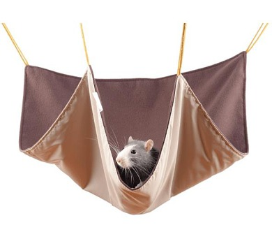 Pelech potkan závěsný - mix barev 45 x 45 cm