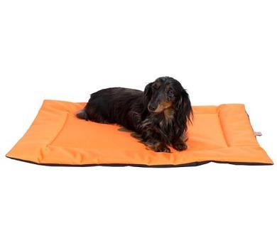 Podložka obdélník nylon Boseň oranžová 90 x 60 cm