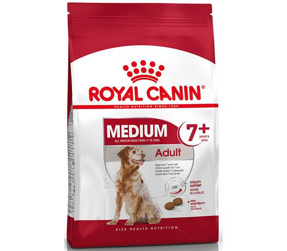Royal Canin - Canine Medium Adult 7+ 4 kg