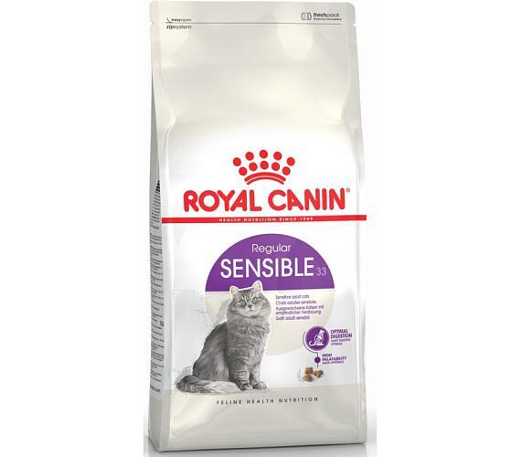 granule pro kocky royal canin sensible 33. Black Bedroom Furniture Sets. Home Design Ideas