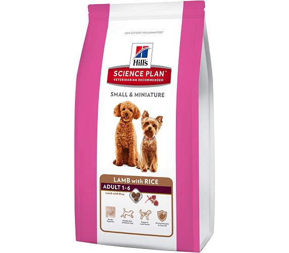 Hill's Canine Adult Small&Mini Lamb+Rice 1,5 kg