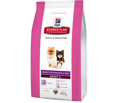 Hill's Canine Adult Small&Mini Sens.Stomach&Skin 1,5 kg