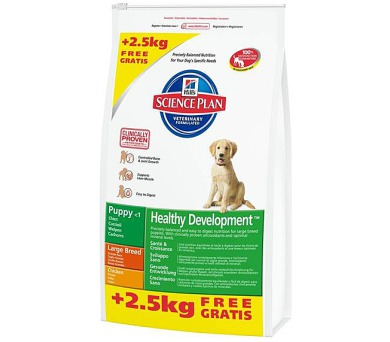 Hill's Canine Puppy Large Breed 11 kg + 2,5 kg zdarma