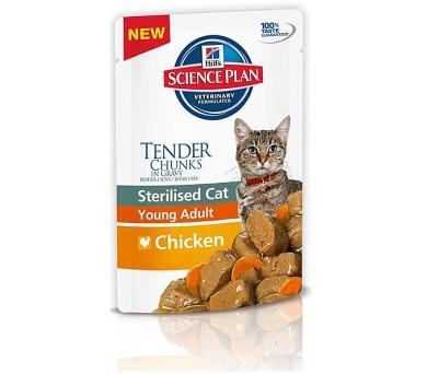 Hill's Feline Sterilised kaps. Chicken 85 g